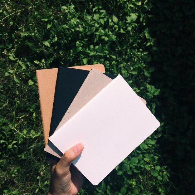 Small Plain Notebooks