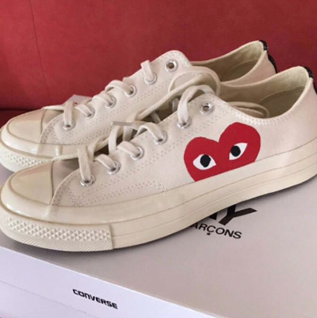 23a1f2c3fabf PLAY Converse Chuck Taylor All Star  70 Low White