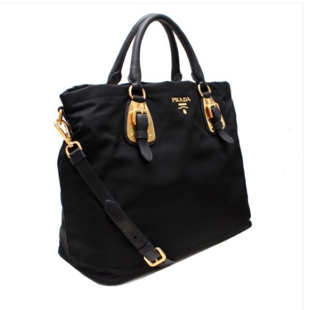 61838e9cc58f ... promo code for prada tessuto nylon bag womens fashion on carousell  d1233 7018a