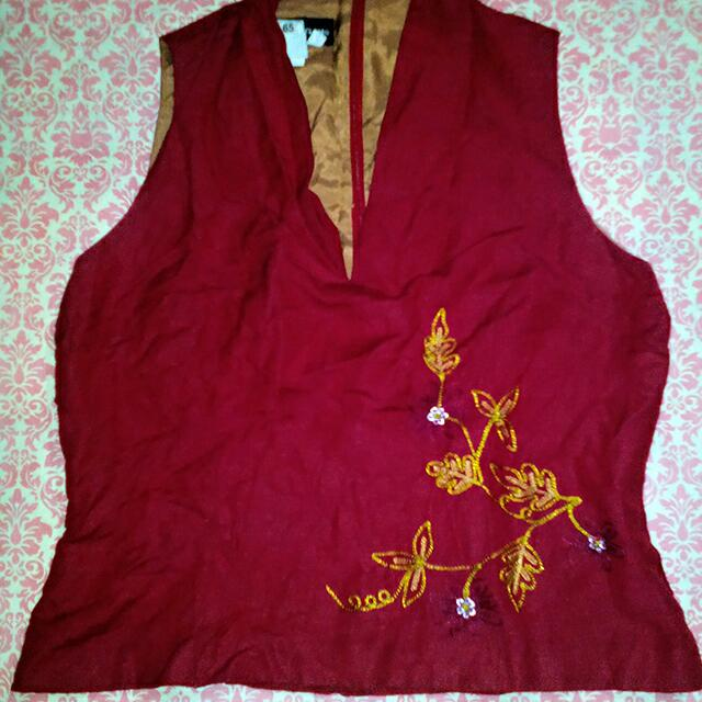 [PRELOVED] Vest Merah