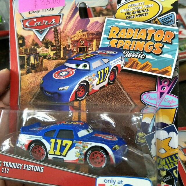Rare Disney Cars Lil Torquey Pistons No 117 Toys Games