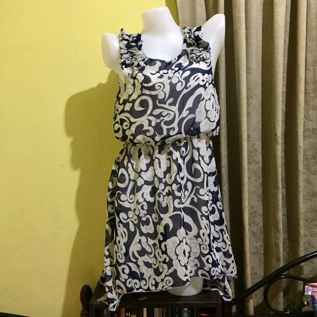 Repriced!! Blue Floral Dress