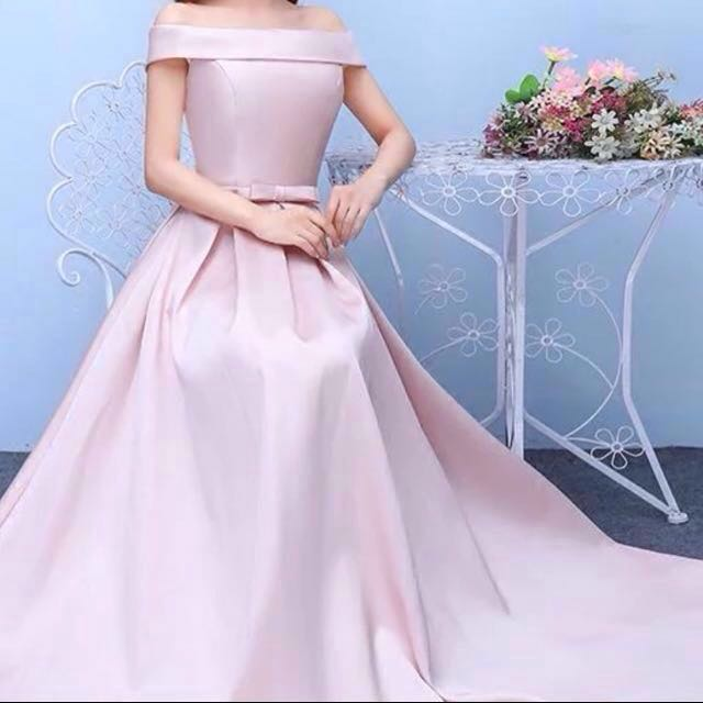 ROSE GOLD PINK GOWN