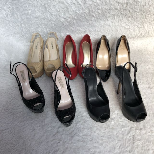 Sale sale bongkar lemari sepatu