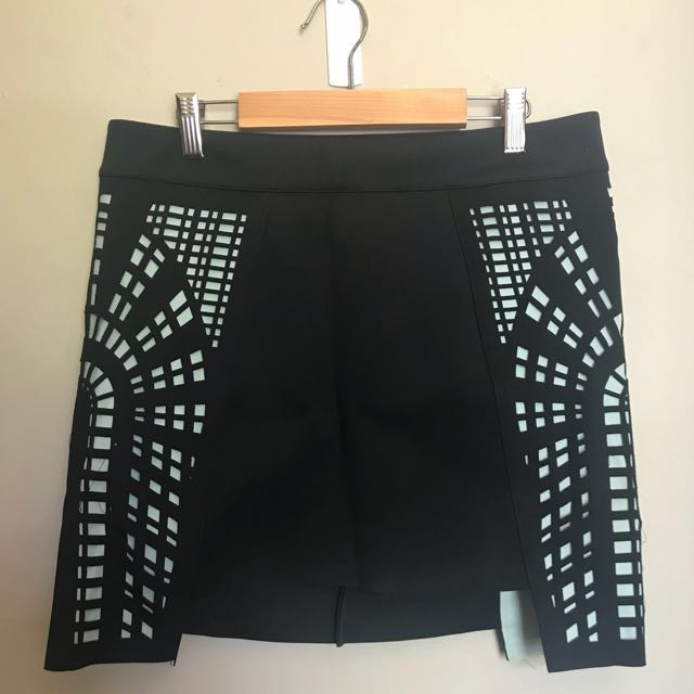 Sass and Bide Scuba Skirt