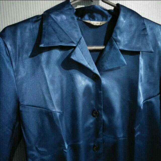Satin vintage shirt