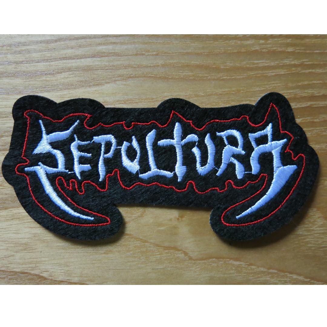 Sepultura Patch Cloth Patch Iron On Patch Brazilian Heavy