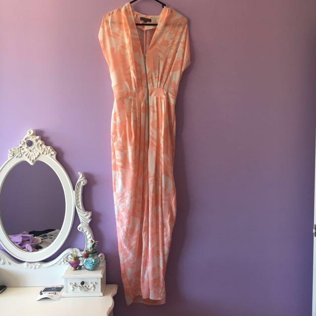 SHEIKE| Pink Floral Zip Dress