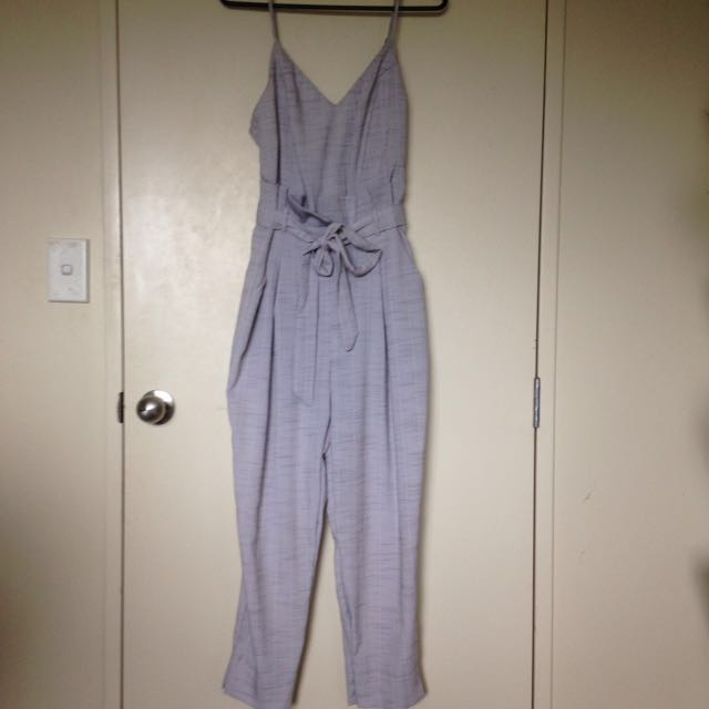 Showpo Grey Jumpsuit