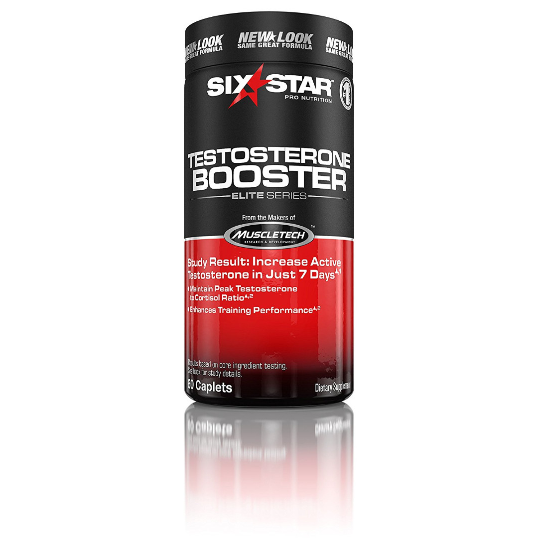 Six Star Testosterone Booster Supplement 60 Caps
