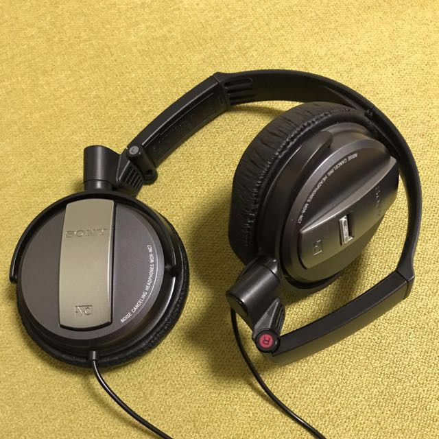 SONY Noise Cancelling Headsets