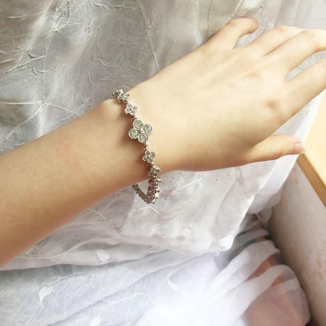 Spades diamond bracelet