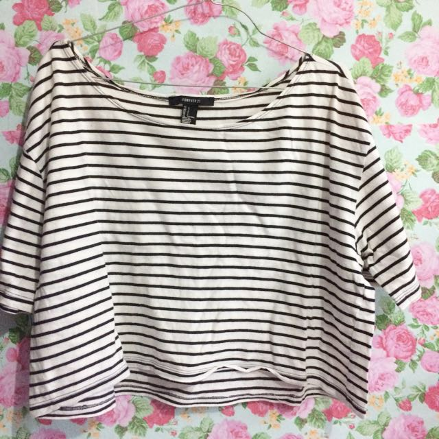 Stripe top by forever21