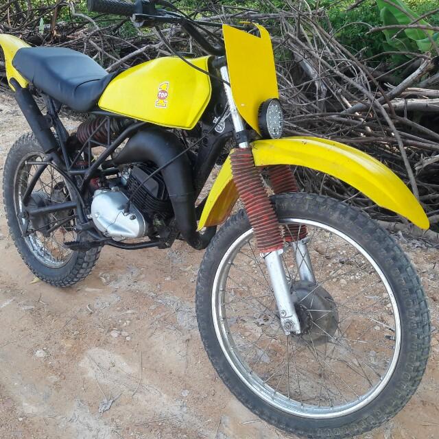 Suzuki ts125 ts 125 retro