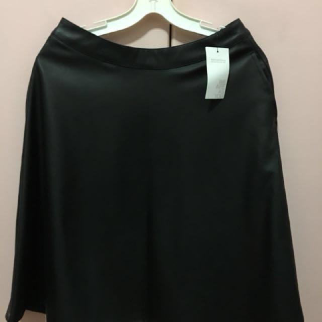 Terranova Leather Skirt