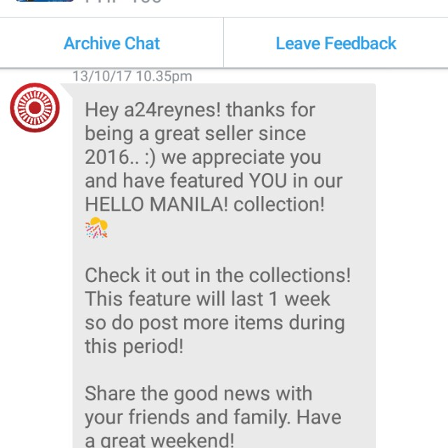 Thank you carousell ....