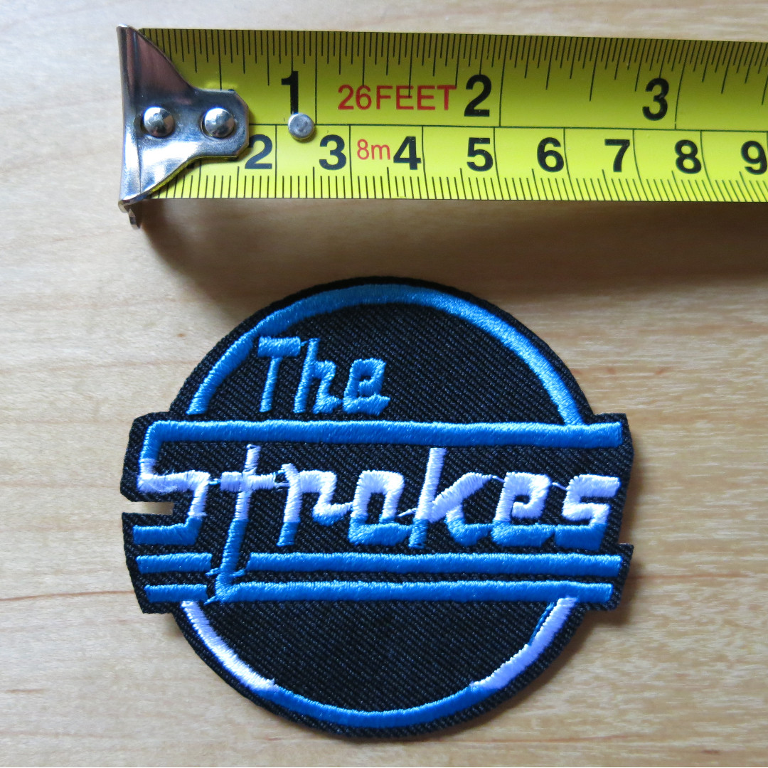 """ROCK BAND THE STROKES PATCH 3/"""""""