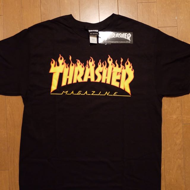 Thrasher Flame black