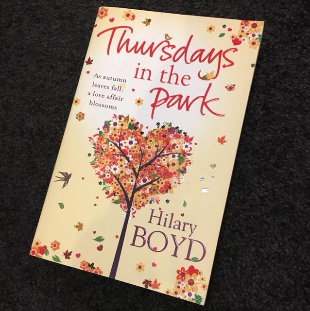 Thursdays in the Park- Hilary Boyd
