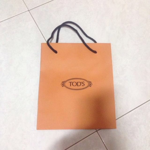 bf91ab5864e 📍Tod's paper bag, Luxury, Accessories on Carousell