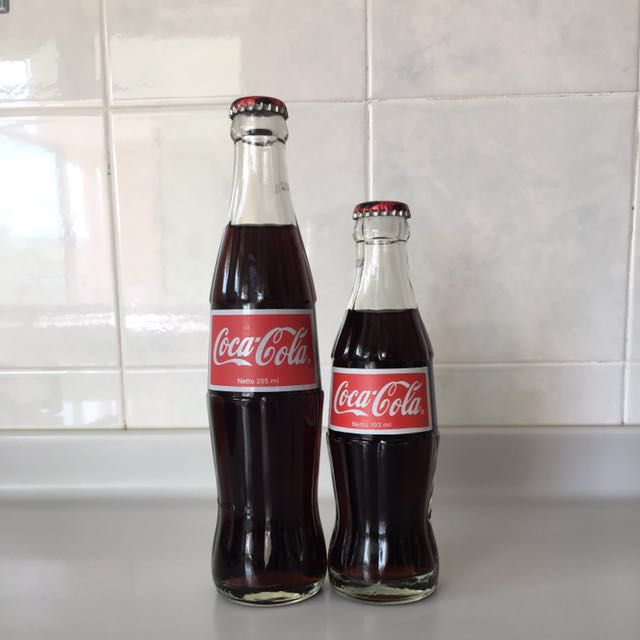 Twin Odd Size Coca Cola from Indonesia, Vintage