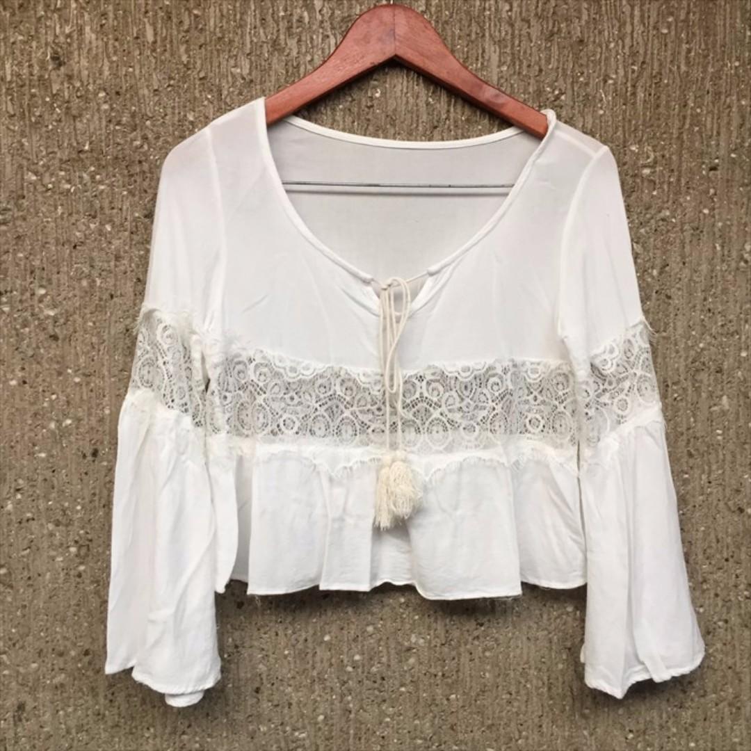 White Gypsy Top