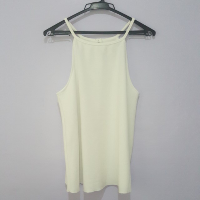 White Spaghetti Strap Top