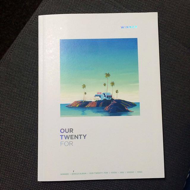 WINNER OUR TWENTY FOR 單曲 CD(For Youth版)交換/售