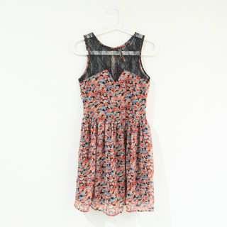 Bershka Sweet Floral Dress