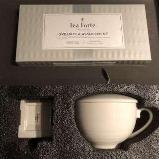 Tea Forte Rejuvenation Green Tea Assortment Set