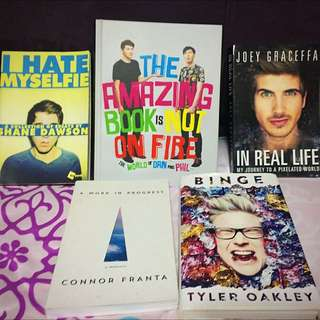 YouTuber Book Library/Sale