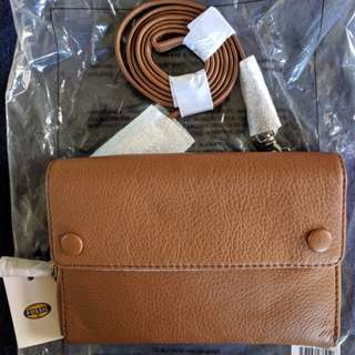 NWT Fossil Blake Mini Crossbody