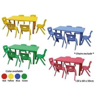 NEW Children Table Kindergarten/Tadika/Taska for Sale