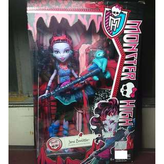 MONSTER HIGH Jane Boolittle First Release Doll