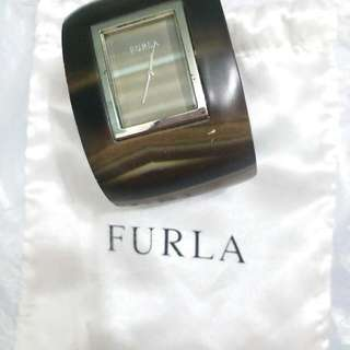 Authentic Limited edition Furla bangle watch 絕版真品鈪錶