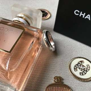 Authentic Chanel 925 Silver Ring