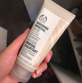 The body shop warming mineral mask Brand new
