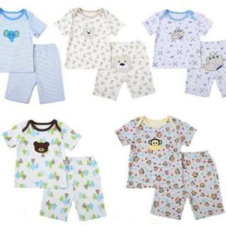 Baby clothes set short and t shirt carter