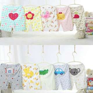 Baby boys and girls clothing short pants