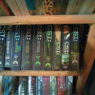 CSI seasons 1-10