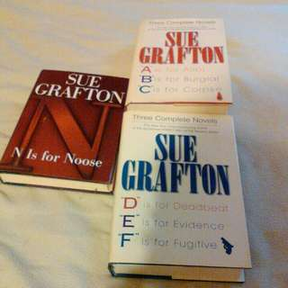 Best seller Sue Grafton