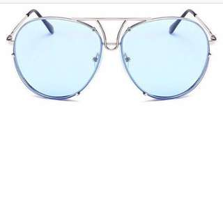 (BN) Ale Tinted Sunglass in Clear Blue
