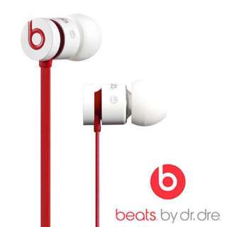 🎧urBeats 耳機 - 紅白Red and white