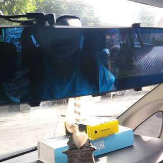 Rearview Mirror Dashcam With back cam