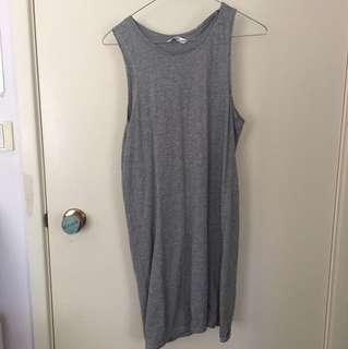 Basic Grey Tank Dress