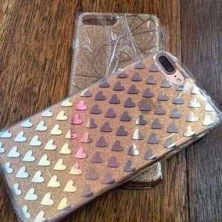 Iphone 7 Plus IMD Heart/Diamond Case