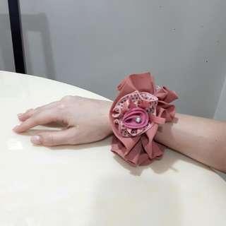Flower Hair Tie/rope/ball