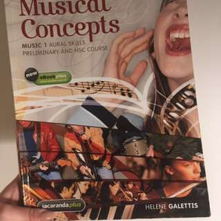 Musical Concepts HSC textbook