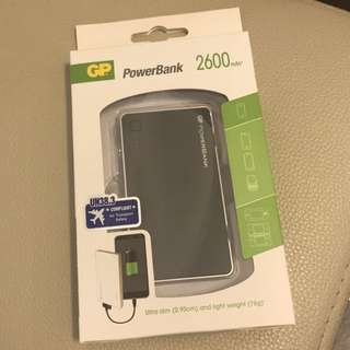 GP 儲電寶 PowerBank 2600mAh