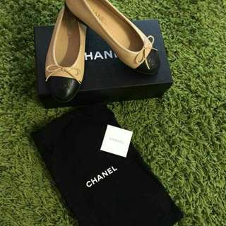 Preloved Chanel Ballerina Flats